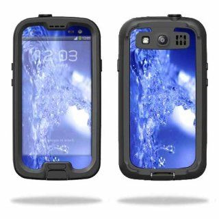 MightySkins Protective Vinyl Skin Decal Cover for LifeProof Samsung Galaxy S III S3 Case fre Sticker Skins Water Explosion Cell Phones & Accessories