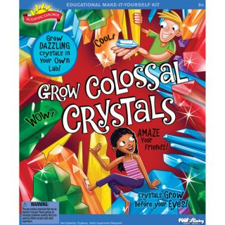 POOF Slinky Scientific Explorer Colossal Grow Crystals Kit