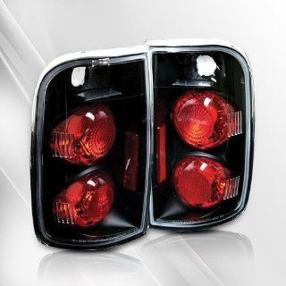 GMC Jimmy / Chevy Blazer 95 96 97 98 99 00 01 Tail Lights ~ pair set (Black) Automotive