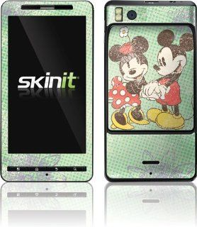 Skinit Mickey & Minnie Holding Hands Vinyl Skin for Motorola Droid X2 Cell Phones & Accessories