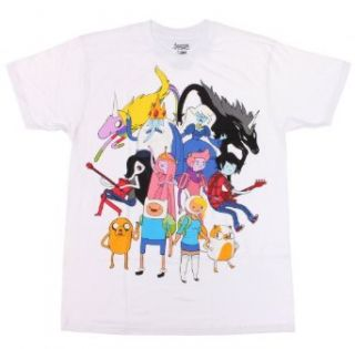 Adventure Time Alternate Universe T Shirt Size  X Large Movie And Tv Fan T Shirts Clothing