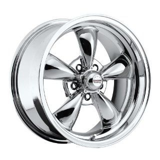"17 inch 17x8"" / 17x9"" 100 C Classic Series Chrome aluminum wheels rims licensed from American Racing 5x4.75"" Chevy lug pattern 0 offset 4.50"" and 5.00"" backspacing (set of four wheels) Automotive"