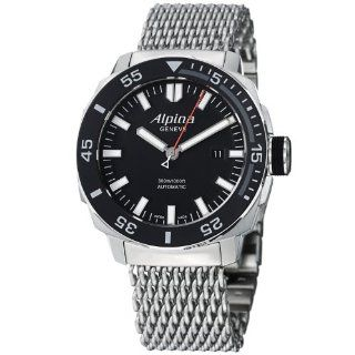 Alpina Adventure Extreme Sailing Diver Men's Stainless Steel Automatic Watch AL 525LB4V6B2 Alpina Watches