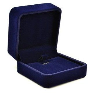 Cosmos � Royal Blue Color Velvet Necklace Pendant Gift Box/Jewelry Box+ Free Cosmos Cable Tie