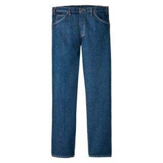 Dickies Mens Regular Fit 5 Pocket Jean   Indigo Blue 34x29
