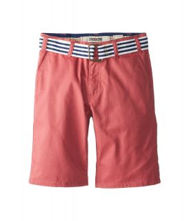 Request Kids Colbert Chino Belted Shorts Boys Shorts (Orange)