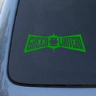 GREEN LANTERN   Vinyl Car Decal Sticker #1713  Vinyl Color Green Automotive