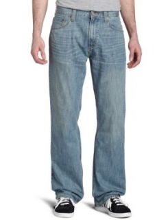 Levi's Men's 557 Relaxed Boot Cut Jean, Vintage Light, 40x30 at  Men�s Clothing store