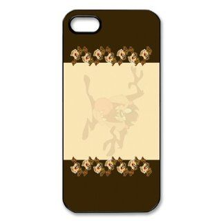 Mystic Zone Taz iPhone 5 Case for iPhone 5 Cover Cartoon Fits Case WSQ0803 Cell Phones & Accessories