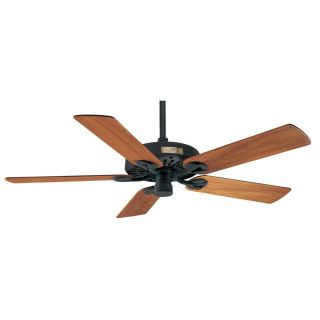 Prestige by Hunter Outdoor Original Textured Black Outdoor Downrod Mount Ceiling Fan