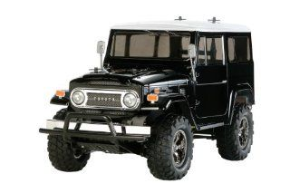 Tamiya 1/10 Rc Car Series No.564 Toyota Land Cruiser 40 Special Black Painted Body (Cc 01 Chassis) 58 564 Tamiya Toys & Games