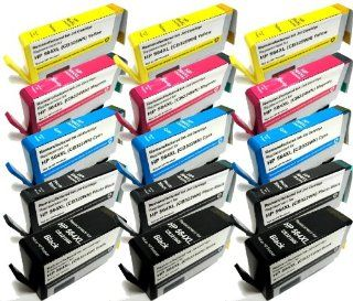 HouseOfToners 15PK HP 564XL Remanufactured B8550 CB321 CB322 CB323 CB (Alternative Replacement) Electronics
