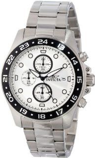 "Invicta Men's 15206 ""Pro Diver"" Stainless Steel and Black Bezel Bracelet Watch Watches"