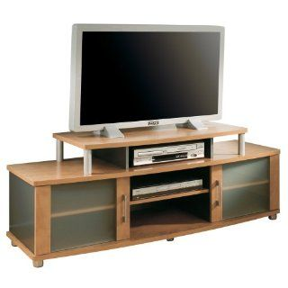 South Shore Furniture City Life Collection 36 to 40 Inch TV Stand, Honeydew and Charcoal   Television Stands