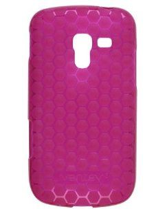 Ventev   Honeycomb Dura Gel Case for Samsung Galaxy Exhilarate SGH I577   Pink Cell Phones & Accessories