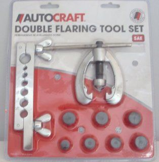 AUTOCRAFT DOUBLE FLARING TOOL SET SAE AC586 Automotive