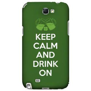 [Geeks Designer Line] Drink On Samsung Galaxy Note 2 Plastic Case Cover [Anti Slip] Supports Premium High Definition Anti Scratch Screen Protector; Durable Fashion Snap on Hard Case; Coolest Ultra Slim Case Cover for Galaxy Note 2 Supports Samsung Note 2 D