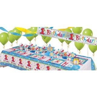 One Derful Boys 1st Birthday Super Party Kit Toys & Games