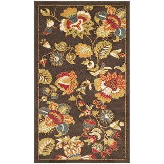 Safavieh Newbury Brown/ Green Area Rug (3 X 5)