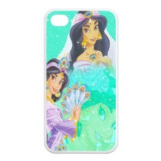 Mystic Zone Princess Jasmine iPhone 4 Case for iPhone 4/4S Cover Classic Cartoon Fits Case KEK0632 Cell Phones & Accessories