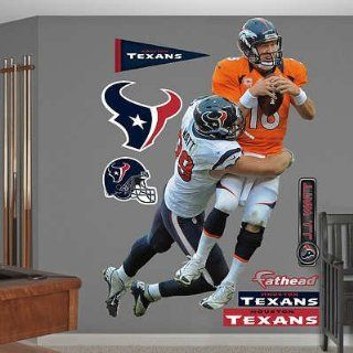 (64x79) NFL Houston Texans J.J. Watt Takes It On Wall Decal Sticker   Prints