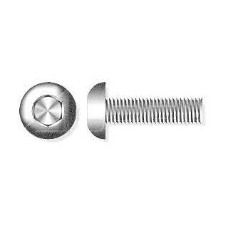"(600pcs) 1/4"" 20 X 1 Button Head Hex Socket Drive Cap Screws Stainless Steel 18 8 Ships Free in USA"