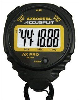 Accusplit AX605SBL AX Pro Series Stopwatch with Recharging Kit  Coach And Referee Stopwatches  Sports & Outdoors