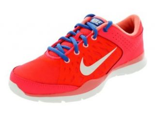 Nike Women's Flex Trainer 3   Atomic Red / Sail Atomic Pink Distance Blue, 9 B US Shoes
