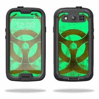 MightySkins Protective Vinyl Skin Decal Cover for LifeProof Samsung Galaxy S III S3 Case fre Sticker Skins Biohazard Cell Phones & Accessories