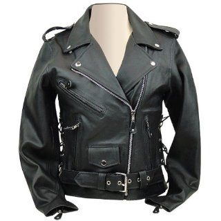 Leather Motorcycle Jacket LJ603 For Women XS Automotive