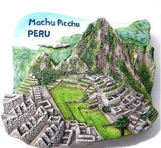Machu Picchu Peru South America 3D Resin TOY Fridge Magnet Free Ship Toys & Games
