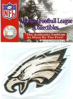 Philadelphia Eagles Team Patch   Official NFL Licensed  Sports Related Collectibles  Sports & Outdoors