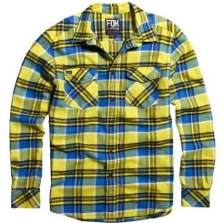 Fox Racing Mens Trent Woven Long Sleeve Shirts at  Men�s Clothing store Fashion T Shirts