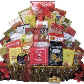 Great Arrivals Gourmet Holiday Christmas Gift Basket, Magnificent Holiday Munchies  Gourmet Snacks And Hors Doeuvres Gifts  Grocery & Gourmet Food