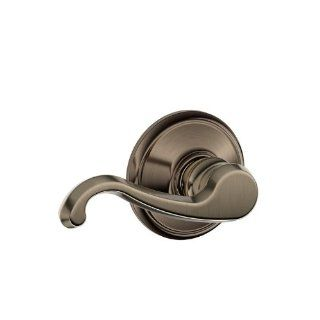 Schlage F10CLT620 F Series Callington Passage Door Lever Set, Antique Pewter