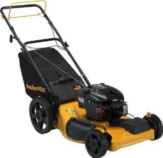 Poulan Pro PR625Y22RHP 22 Inch 190cc Briggs & Stratton 625 Series Gas Powered Side Discharge/Mulch/Bag FWD Self Propelled Lawn Mower With High Rear Wheels (Discontinued by Manufacturer)  Walk Behind Lawn Mowers  Patio, Lawn & Garden