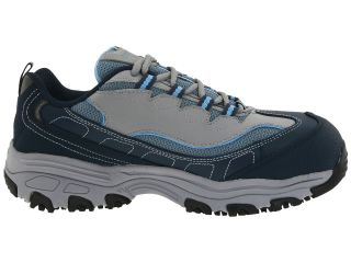Skechers Work Dlite S R Safety Toe Navy Grey