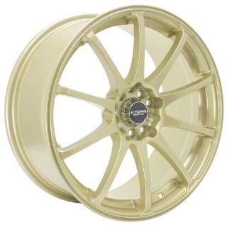 Kyowa Racing Series 626 Gold   17 x 7 Inch Wheel Automotive