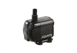 AquaV 396 GPH Submersible Water Pump With Filter   Use Inside Of Tank   UL Listed   5.74 FT  Pond Water Pumps  Patio, Lawn & Garden