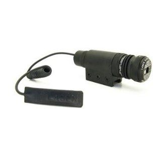 Paintball/ Airsoft Green Laser Sight w/ Weaver Rail Mount  Airsoft Gun Sights  Sports & Outdoors