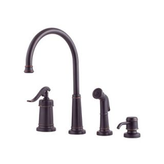 Price Pfister Ashfield Two Handle Widespread High Arc Kitchen Faucet