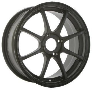 "Konig Feather 17""x7 Honda Acura Toyota Wheels Rims Matte Black Lip 4pc   1set Automotive"