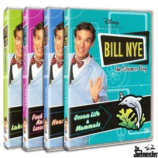 Bill Nye the Science Guy Collection Three (Deserts & Lakes and Ponds, Food Web & Animal Locomotion, Heart & Genes, Ocean Life & Mammals) Movies & TV