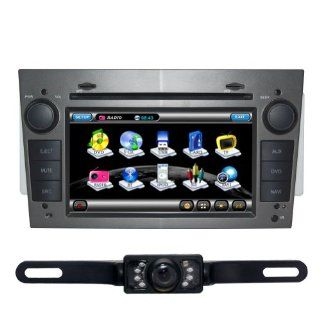 Tyso For OPEL ASTRA VECTRA (2005 2008) CAR DVD Player GPS Rear Camera Bluetooth (Free Map) CD8919R  In Dash Vehicle Gps Units  GPS & Navigation