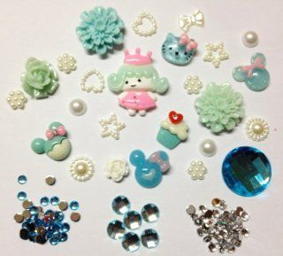 Kawaii Decoration Cabochon Flat Back Reins For Cellphone Case Irene Series 20   Princess