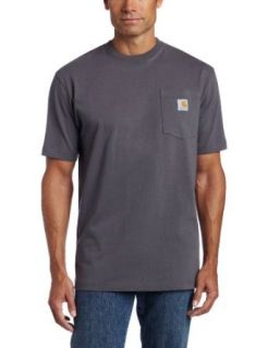 Carhartt Men's Tall Work Wear Pocket Short Sleeve Tee Shirt Jersey Original Fit Clothing