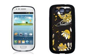 Vera Bradley INSPIRED Black and Yellow Bird Samsung Galaxy S3 Case By Case Envy (Hard Silicone Rubber Case) Cell Phones & Accessories