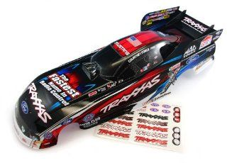 Traxxas Funny Car * COURTNEY FORCE RED BODY Ford Mustang * John Mike Robert 6907 Toys & Games