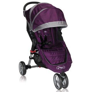 Baby Jogger BJ11228 City Mini Single With Parent Console   Purple Gray  Baby Strollers  Baby