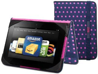 "BUILT Slim Folio Standing Case for Kindle Fire HD 7"" (Previous Generation), Mini Dot Navy Kindle Store"